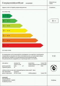 verbetering van de energieprestatie met een energielabel als uithangbord