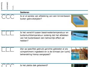 Energiebesparen in zwembaden